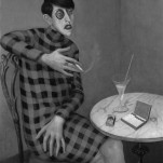 """Otto Dix – """"Die Schriftstellerin Sylvia von Harden"""" Original"""