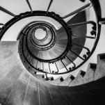 Treppenaufgang im Französischen Dom in Berlin 2