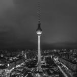 Stadtansicht Berlin bei Nacht